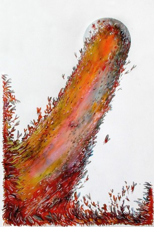 Occupation, 2003. 151 x 101 cm.